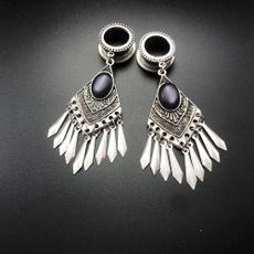 Steel, Tassels, Fashion, Dangle Earring