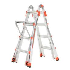 Aluminum, adjustableladderwithworkplatform, adjustableladderwithplatform, adjustableladder