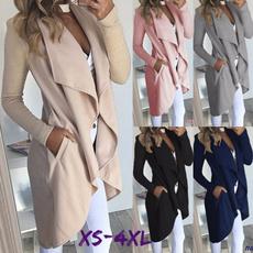 casual coat, Plus Size, womenovercoat, women coat