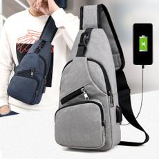 Shoulder Bags, Fashion, usb, Tote Bag