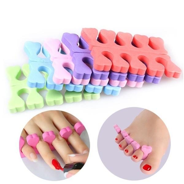 Sponges, foamfingertoeseparator, fingerseparatordiy, toeseparator