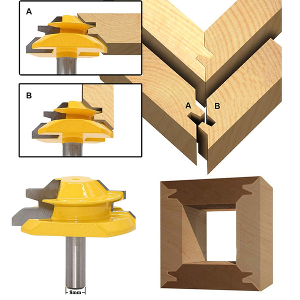 routerbit, lockmiterbit, railampstilerouterbit, woodprocessing