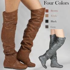 cute, Fashion, Winter, long boots