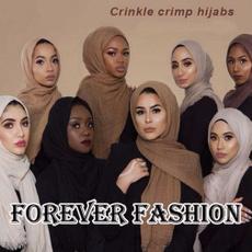 Scarves, Fashion, muslimcrinklescar, Shawl Wrap