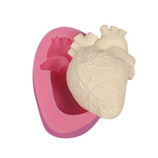 Heart, mouldmaker, Silicone, Soap