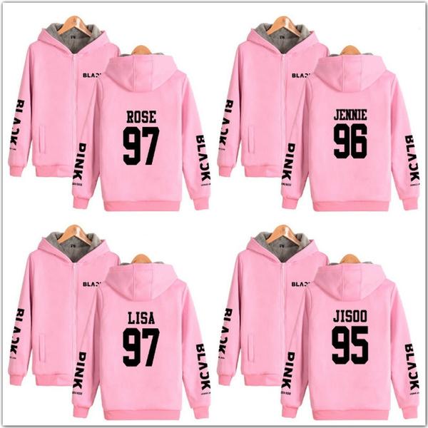 K-Pop, Fleece, Plus Size, Hoodies
