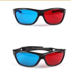 Blues, 3dglasse, Movie, redblue3dglasse