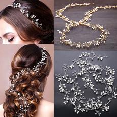 pearlhairband, hair, hairornament, headdressforbride
