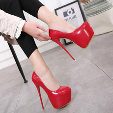 patent leather, Womens Shoes, patent, High Heel