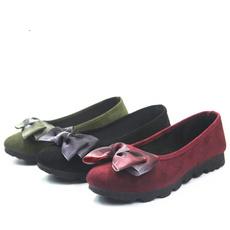 Flats, Woman, Winter, Boots