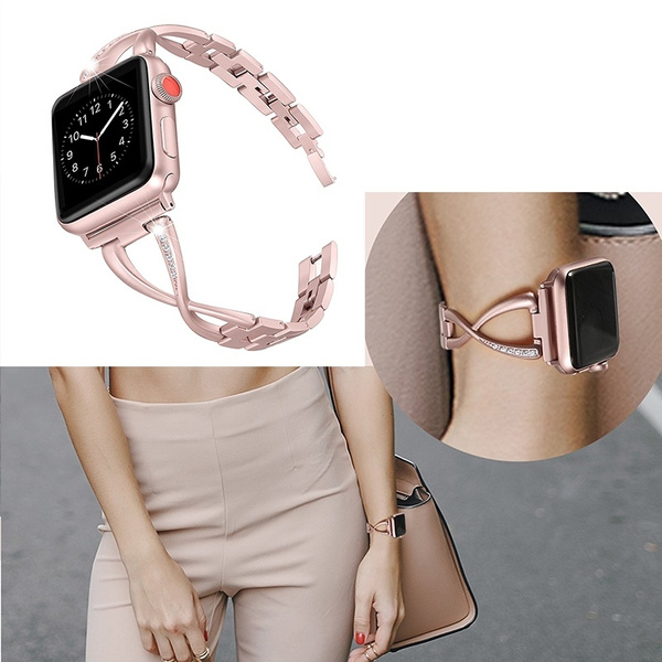 Steel, Bracelet, applewatch, iwatchbandforwomen