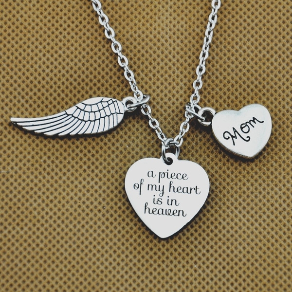 Heart, Jewelry, Gifts, memorialnecklace