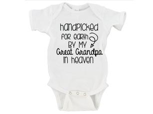 heavenbabyshirt, Toddler, handpickedforearthonesie, babyonesie