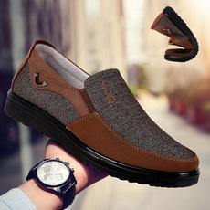 casual shoes, Flats, clothshoesformen, Cloth