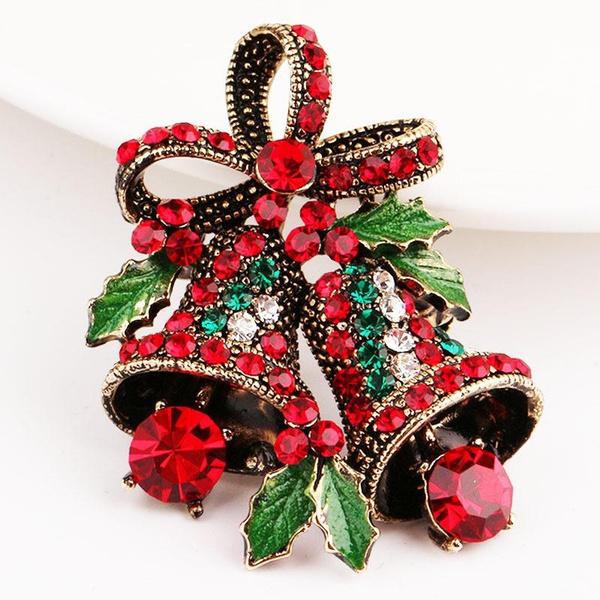decoration, belldecoration, Christmas, Pins