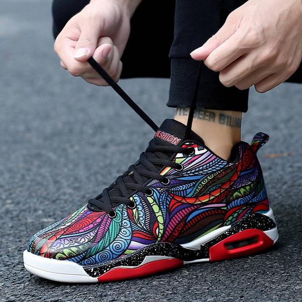 3D Printing Colorful Shoes