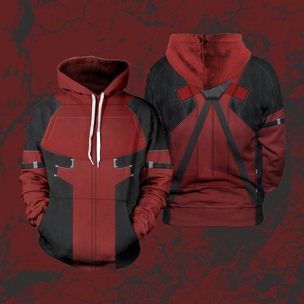 Fashion, Deadpool, Sleeve, Long Sleeve