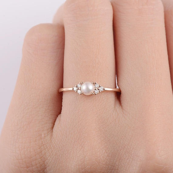 goldplated, Rose Gold Ring, gold, Sterling Silver Ring