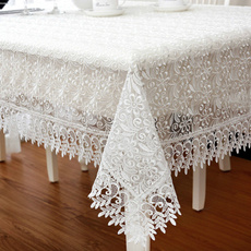 Decor, Lace, lacetablecloth, Tea