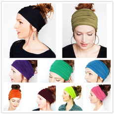 Head, Woman, Yoga, Head Bands