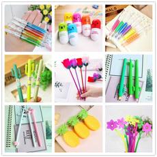 ballpoint pen, cute, needlepen, cactuspen