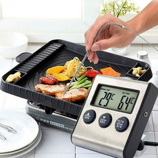Steel, Grill, cookingthermometer, Cooking