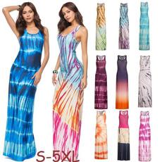 Summer, long dress, Dress, summer dress