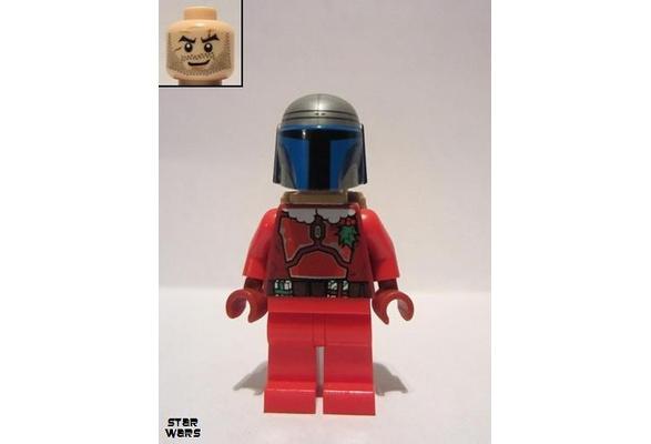 LEGO Star Wars Santa Jango Fett Minifigure sw0506