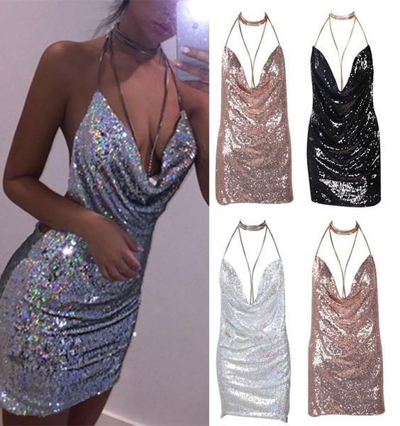 Mini, Club Dress, Fashion, Necks