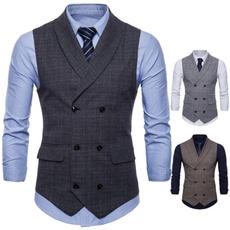 Vintage, Vest, Plus Size, Waist Coat