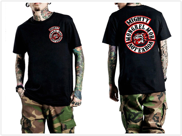 Mens T Shirt, mightymongrelmob, Fashion, basictee
