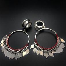 Steel, gaugeearring, Dangle Earring, Jewelry
