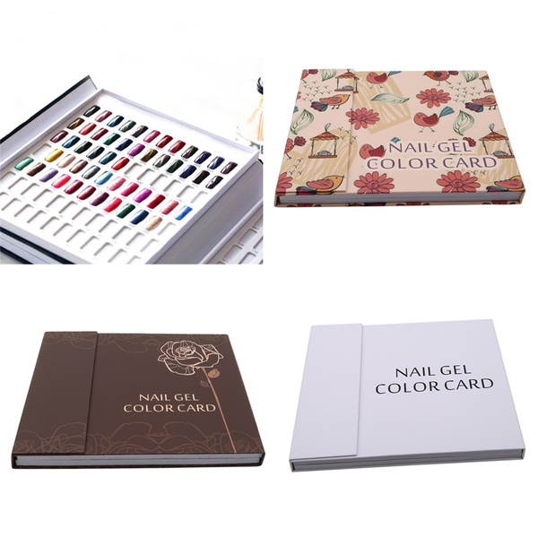 Box, nail decoration, colordisplaychart, Beauty