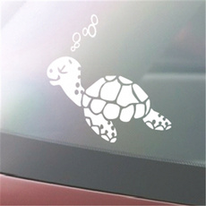 Turtle, windowdecal, techampgadget, cute