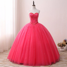 pink, gowns, Dress, vestido