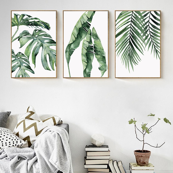 leaves, canvasart, Wall Art, Home Decor