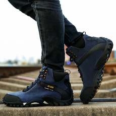 Mountain, leather shoes, Hiking, Waterproof