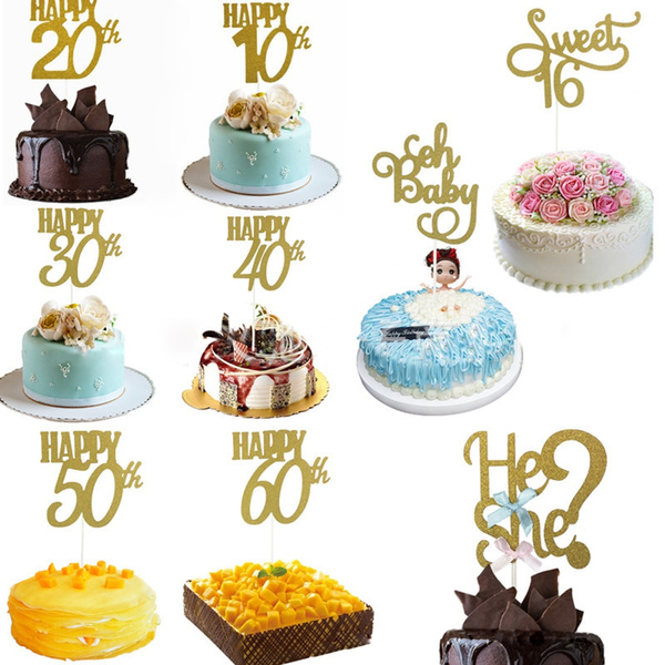 happybirthday, Bride, caketopper, partydecor