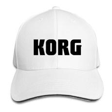 korg, snapback cap, headwear, unisex