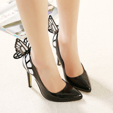 butterfly, Woman, Star, Womens Shoes