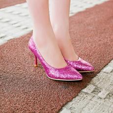 plus, Plus Size, gold, Womens Shoes