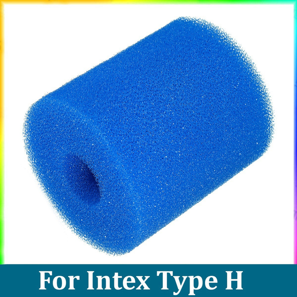 For Intex Type H Washable Reusable Swimming Pool Filter Sponge Cartridge Cleaner