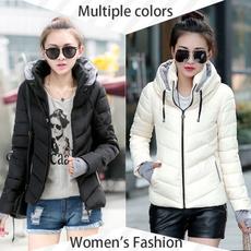 Stand Collar, Jacket, Slim Fit, Winter