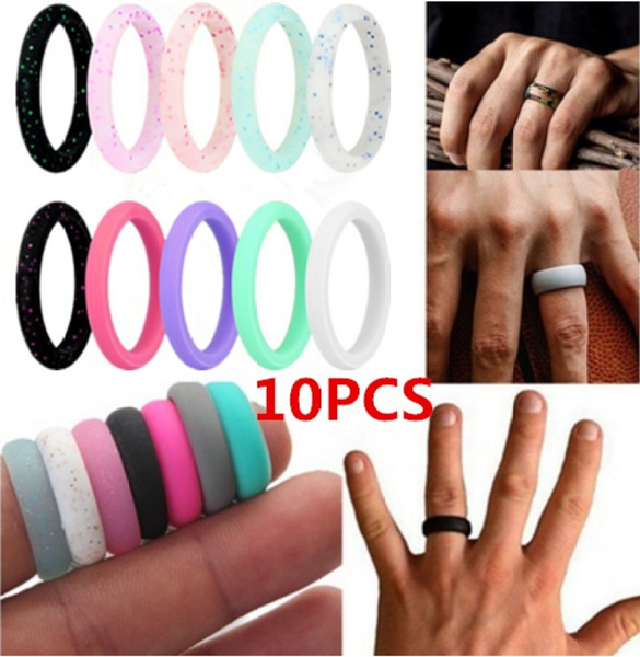 Fashion, wedding ring, Silicone, Light Weight