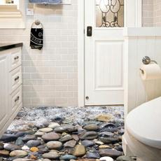 landscapewallsticker, PVC wall stickers, Bathroom, Home Decor