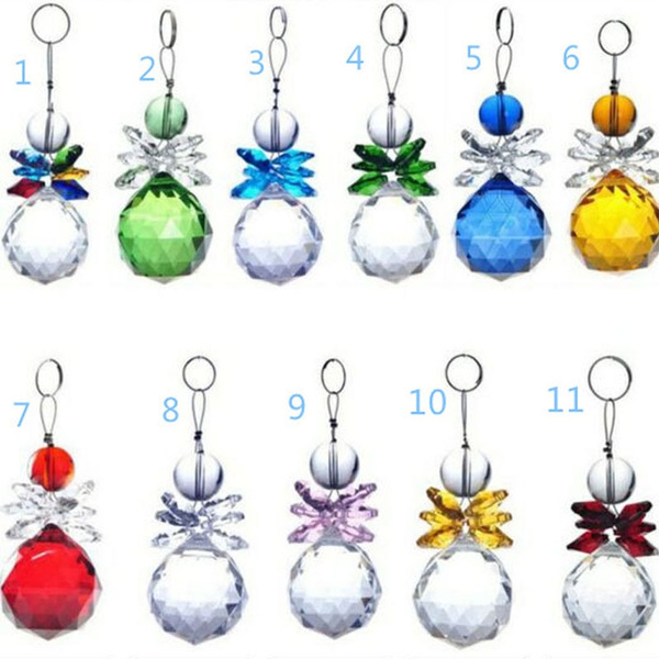 crystal pendant, hangingcrystalornament, Jewelry, handmadedecor