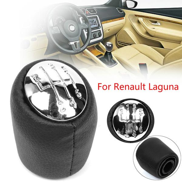 Dasing 6 Speed Car Gear Shift Knob Gear Handball Head Knob Chrome Caps For Renault Laguna II 2 Mk2 2001 2002 2003 2004 2005 2006 2007