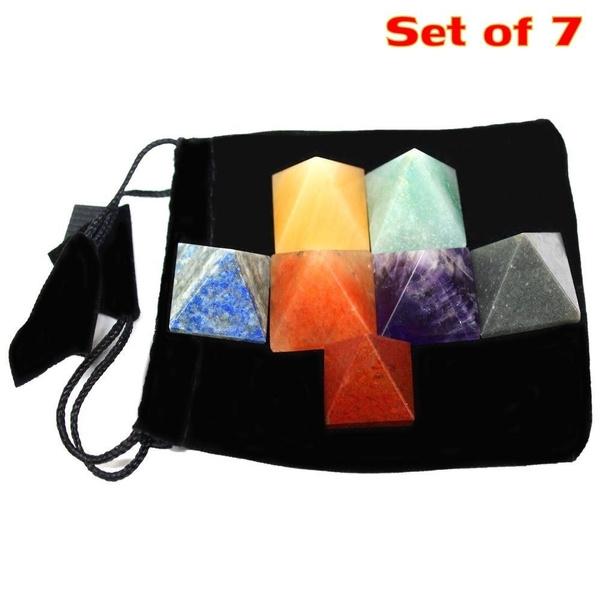 Stone, pyramid, Jewelry, aventurine