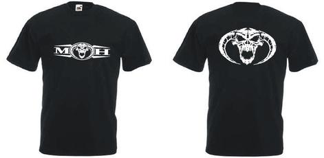 Cotton T Shirt, graphic tee, onecktshirt, Tops