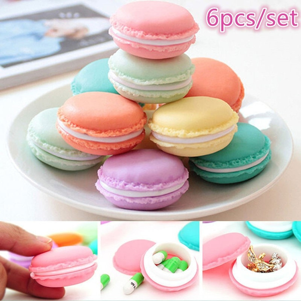 macaron, Mini, Container, Colorful